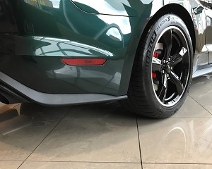 18-19 Mustang Behind Rear Wheels Protection